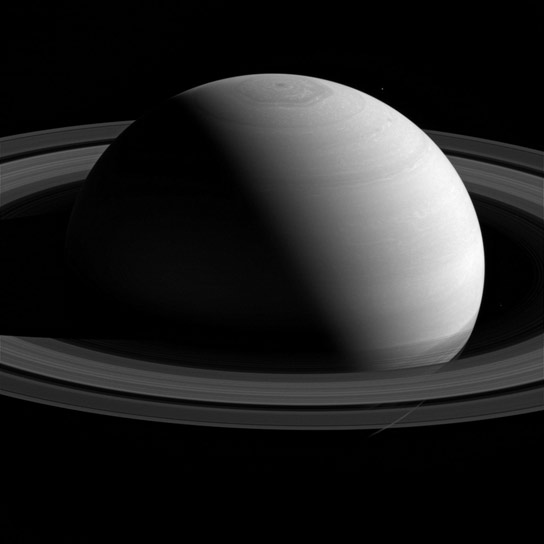 Cassini Views Saturn