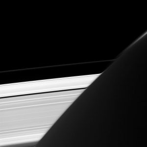 Cassini Views Saturn's A and F Rings