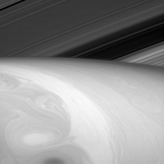 Cassini Views Saturn's Clouds