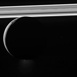 Cassini Views Saturn's Moon Enceladus