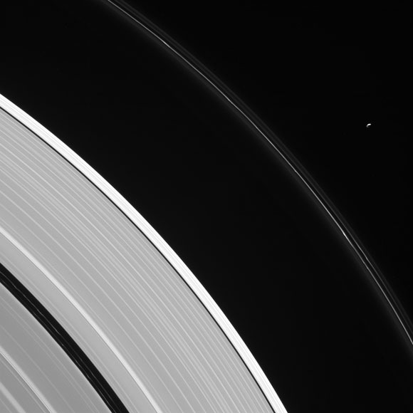 Cassini Views Saturn's Moon Pandora