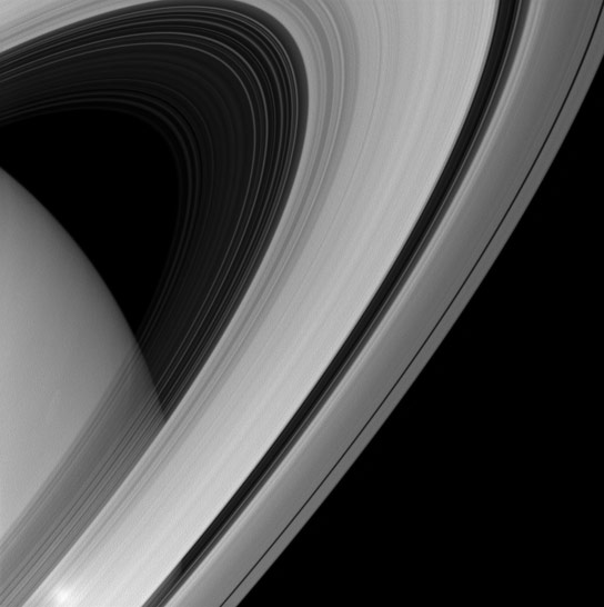 Cassini Views Saturns Rings