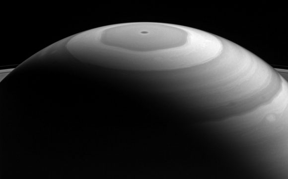 Cassini Views Saturn's 'Watercolor' Swirls