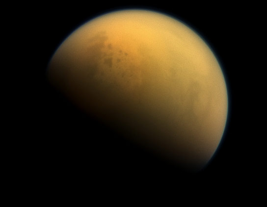Cassini Views Titan