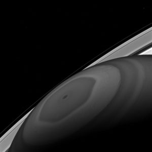 Cassini Views the North Pole of Saturn