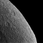 Cassini Views the Surface of Rhea