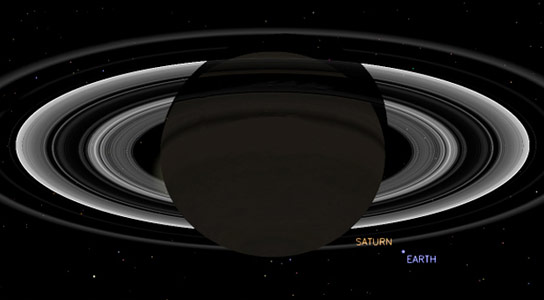 Cassini to Take Photo of Earth