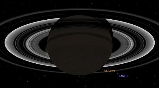 Cassini to Take Photo of Earth