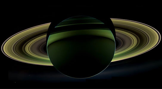 Cassini view of Saturn