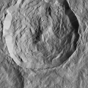Cerean Crater on Ceres