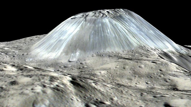 Ceres' Lonely Mountain Ahuna Mons