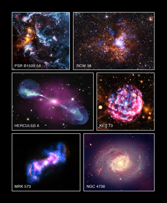 Chandra Archive Images