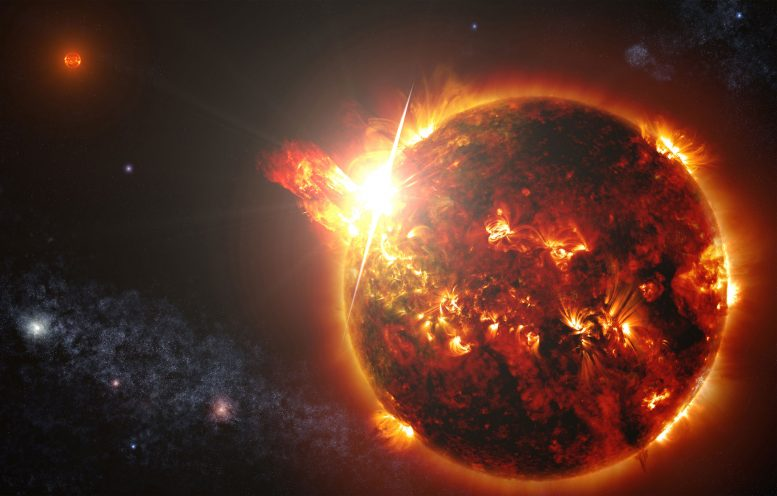 Chandra Detects a Coronal Mass Ejection