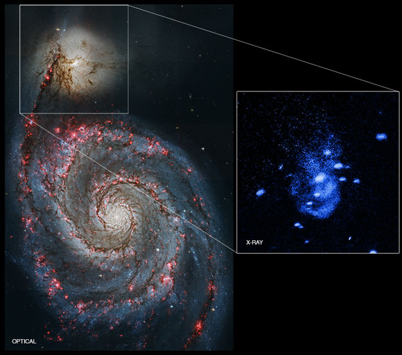 NASA's Chandra Finds Supermassive Black Hole