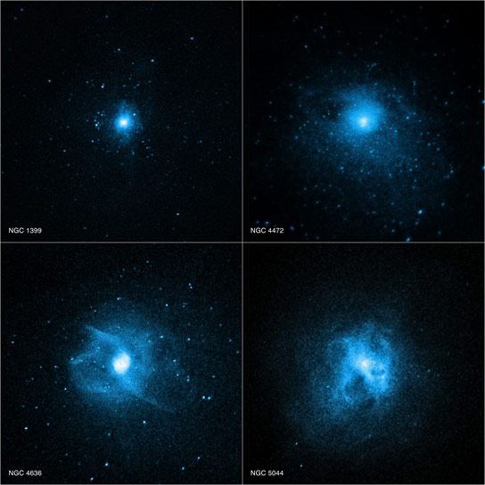 Chandra Observatory Reveals Why Giant Elliptical Galaxies Have Few Young Stars
