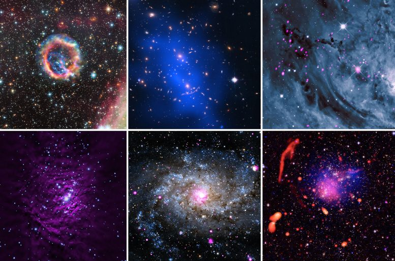 Chandra Serves Up Cosmic Holiday Assortment