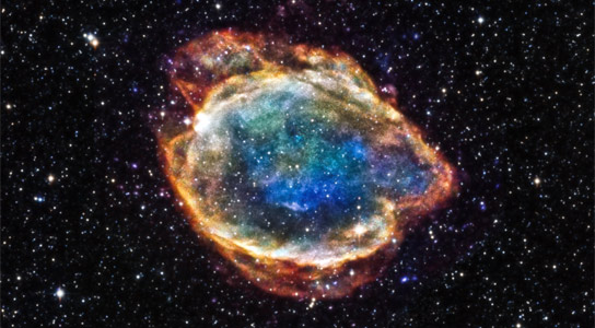 Chandra Views Supernova Remnant G299