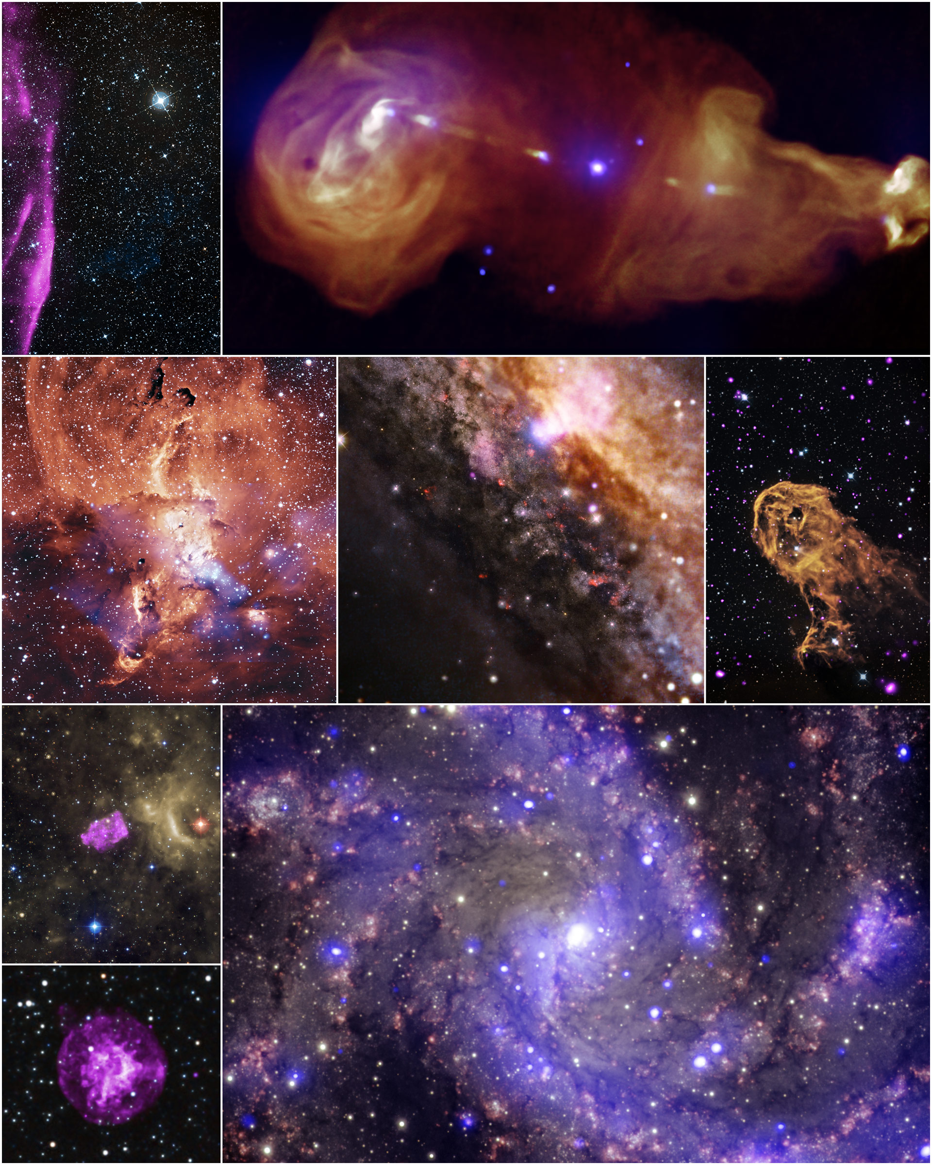 Chandra X-Ray Observatory Releases Eight Never Before Seen ...