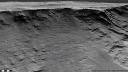 Channels Hellas Basin Mars
