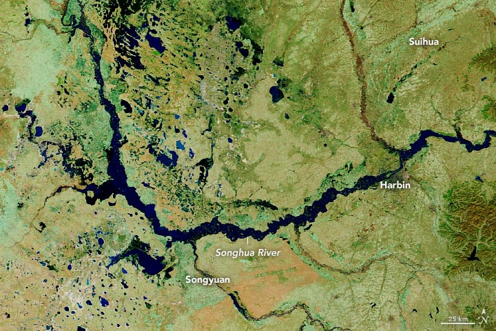 China Songhua River October 2020 Annotated