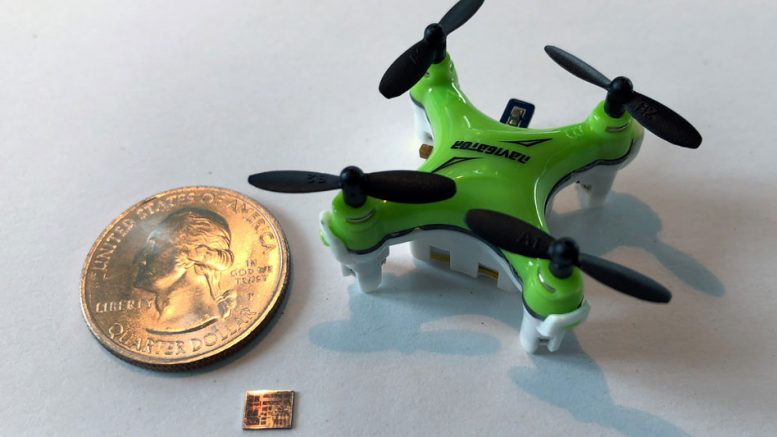 Chip Upgrade for Miniature Drones