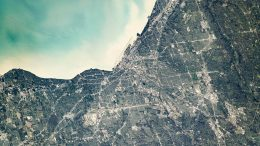Cleveland Ohio Satellite View