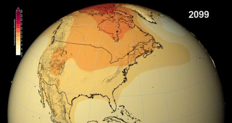 Climate Models Predict 21st Century Temperature and Precipitation Changes