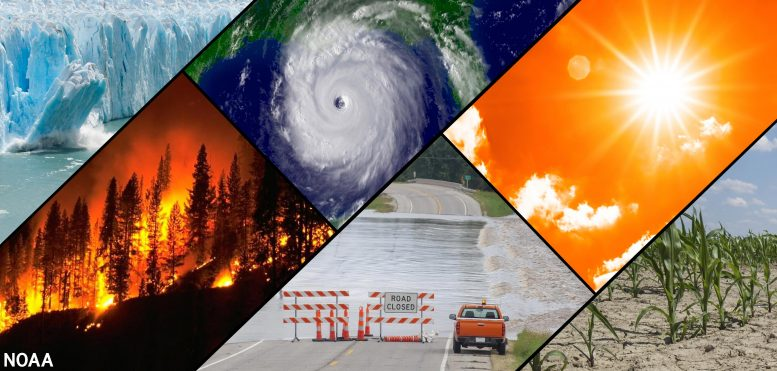 Climate and Weather Collage