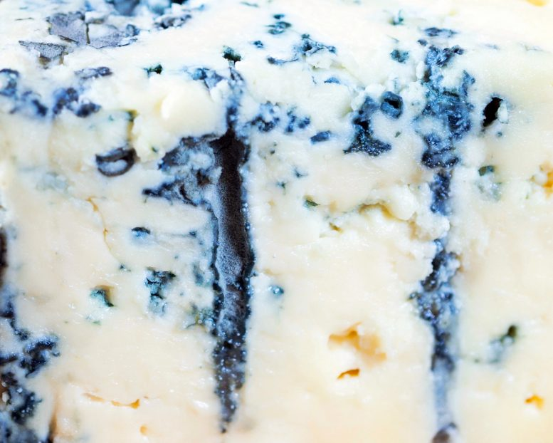 Close Up Blue Cheese