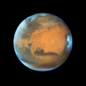Close-up of the Red Planet
