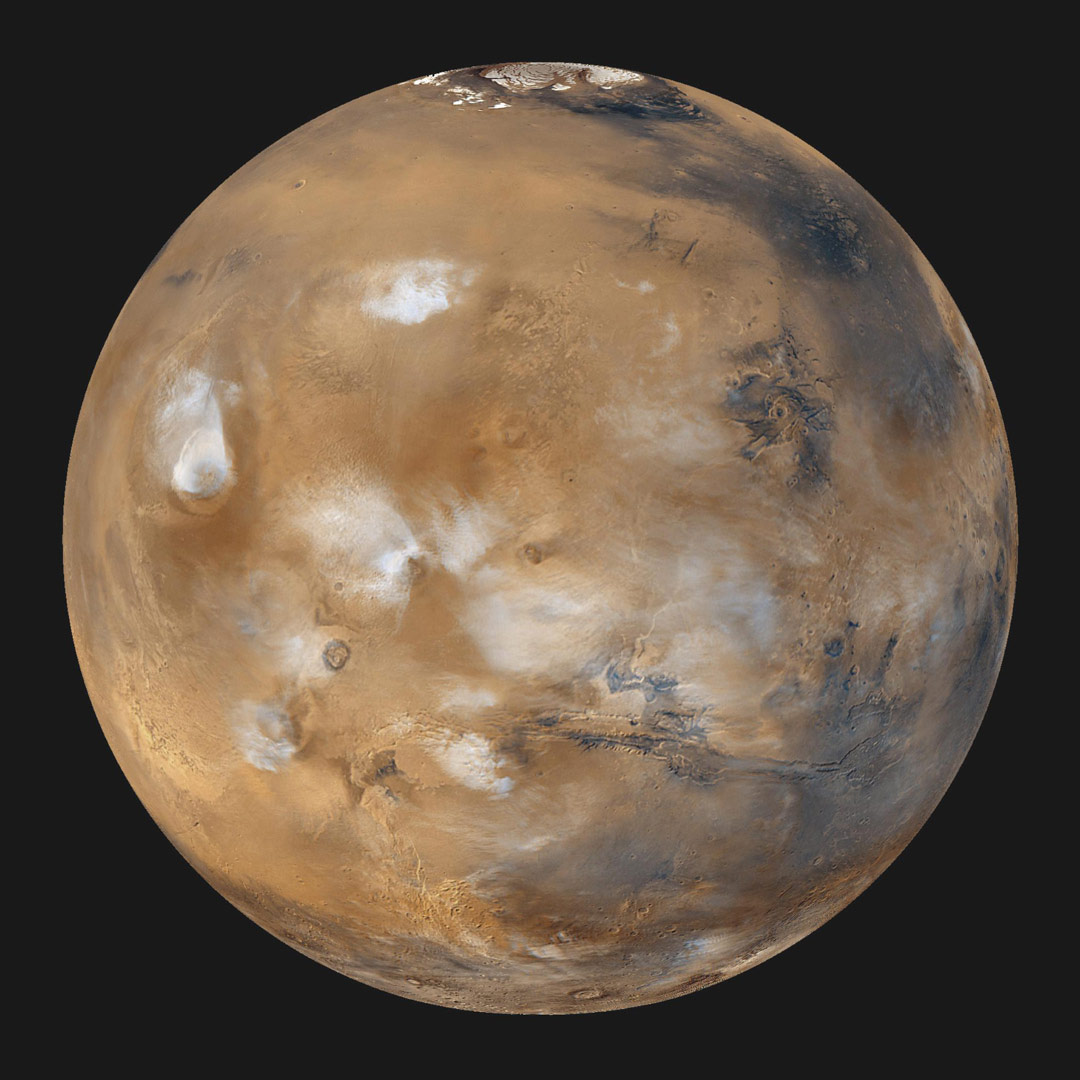 Cloud-Chamber Experiments Show How Martian Clouds Form