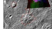 Clues about Volcanoes Under Ice on Ancient Mars Discovered