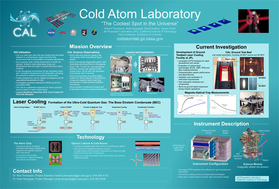 Cold Atom Laboratory The Coldest Spot in the Known Universe