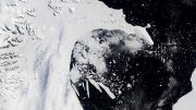 Collapse of Larsen B Ice Shelf