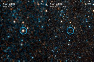 Collapsing Star Gives Birth to a Black Hole