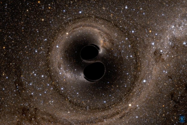 Collision of Two Black Holes GW150914