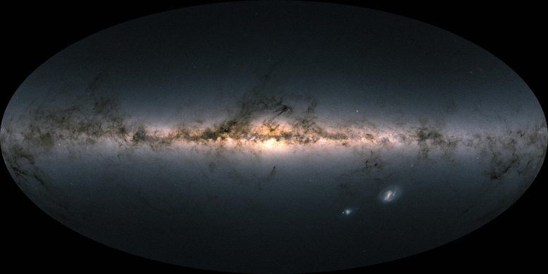 Gaia Early Data Release 3 The Color of the Sky