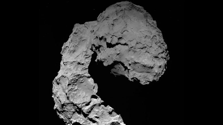 Comet 67P Churyumov Gerasimenko as Seen by OSIRIS