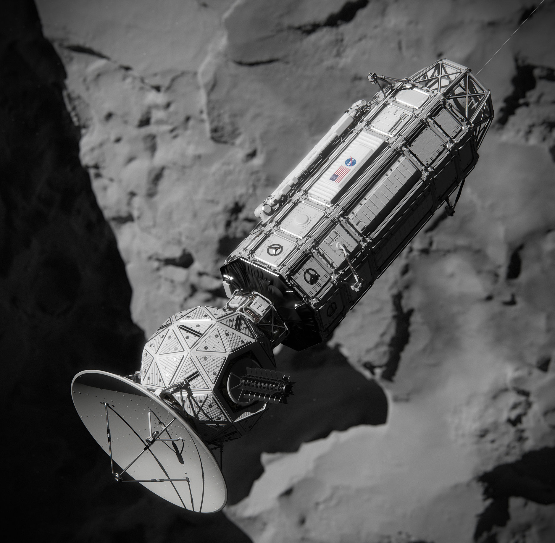 NASA Comet Hitchhiker Would Take Tour of Small Asteroids ...