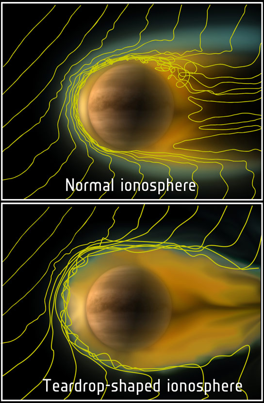 Comet-like-ionosphere-at-Venus