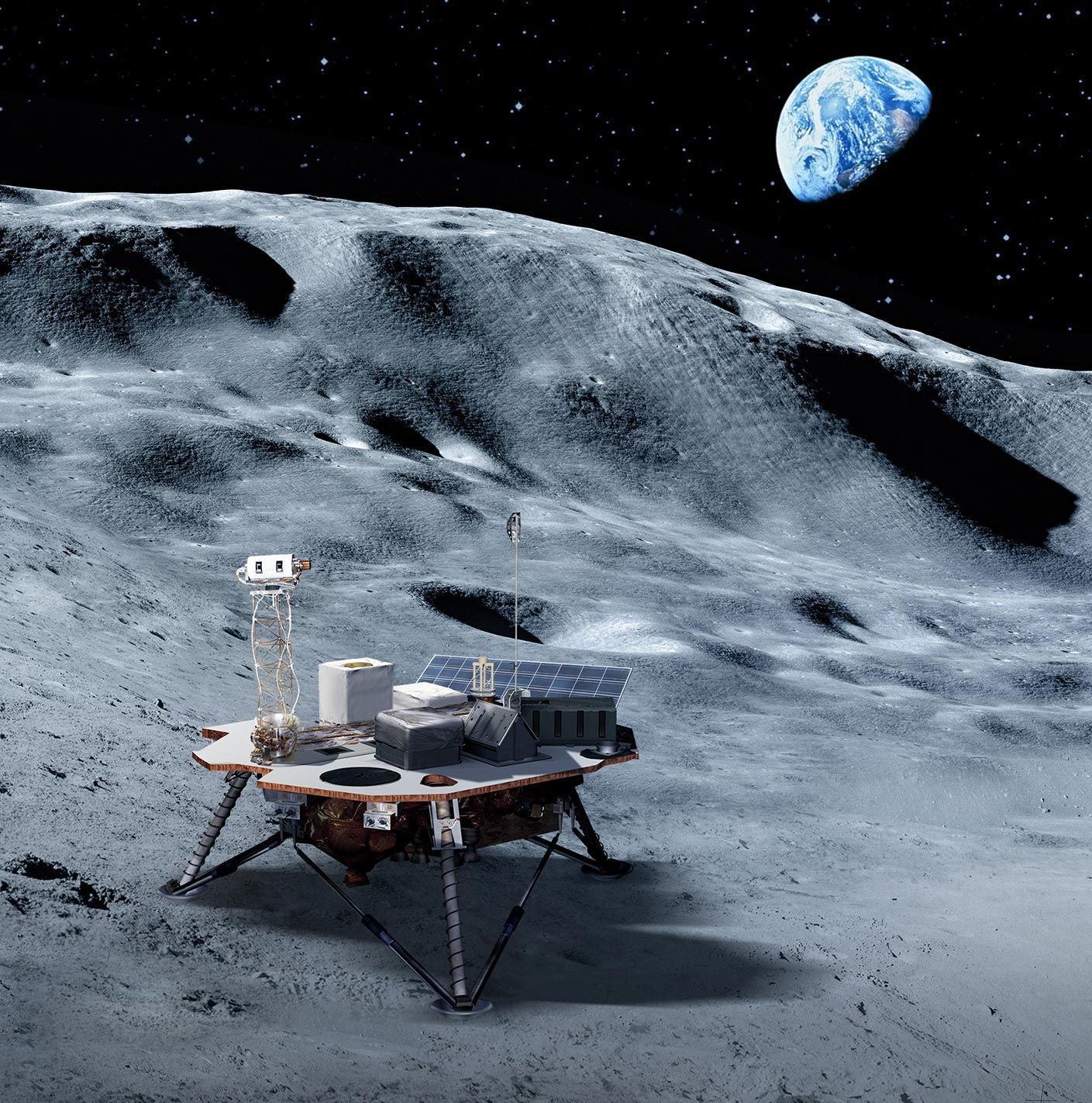 NASA Lunar Payloads: New Science Investigations for the Dark Side of the Moon - SciTechDaily