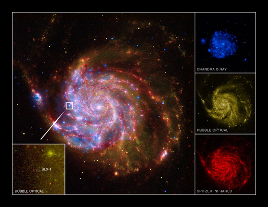 Composite Image of M101