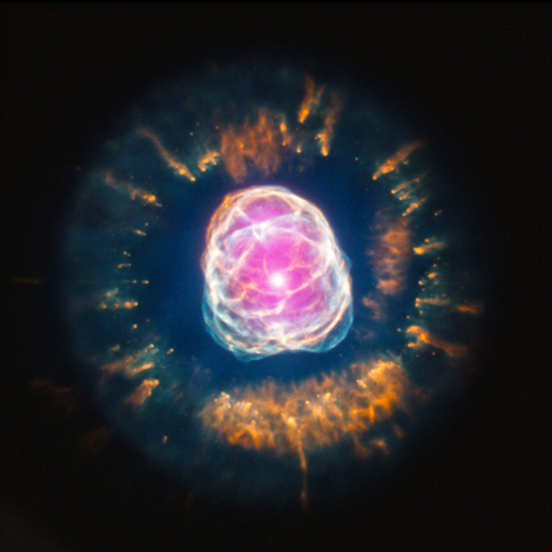An Exploding Star And A True-Blue Planet- Two Incredible ...