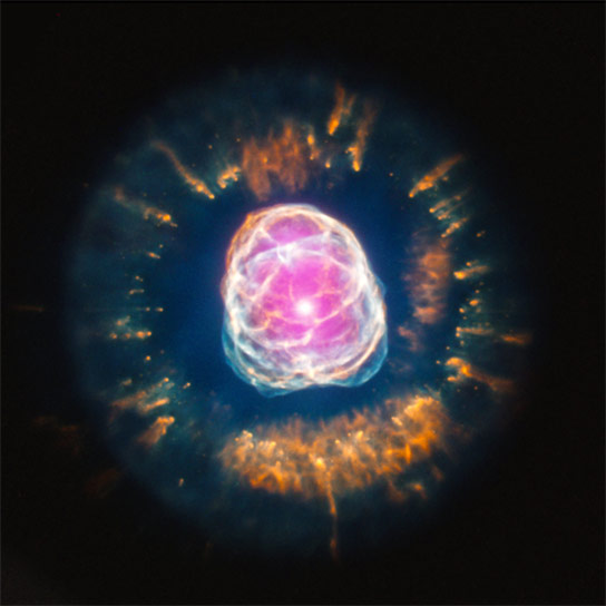 Composite Image of the Eskimo Nebula