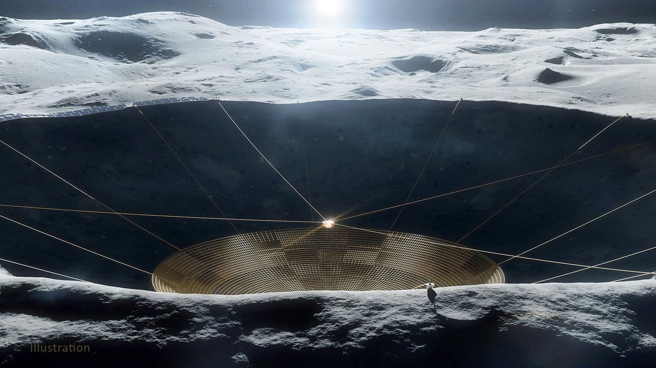 A Radio Telescope Built in a Crater on the Moon – And Other Innovative NASA Tech Concepts Being Researched