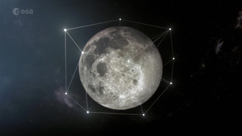 European Space Agency Reveals Bold Proposal to Build Satellite Navigation and Telecommunications Network Around the Moon to Enable Sustainable Space Exploration