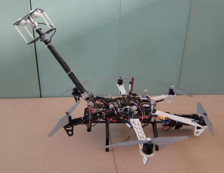 Contact Aerial Manipulator System