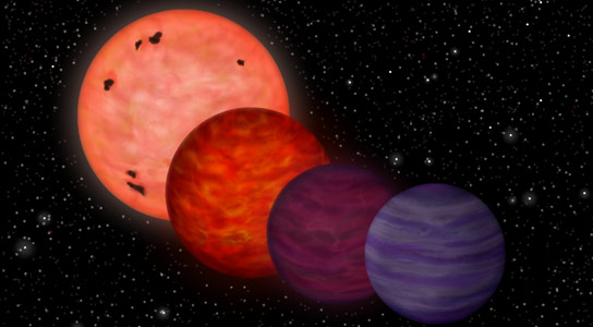 Cool Planet May Have Spent Much of Its Youth as Hot as a Star