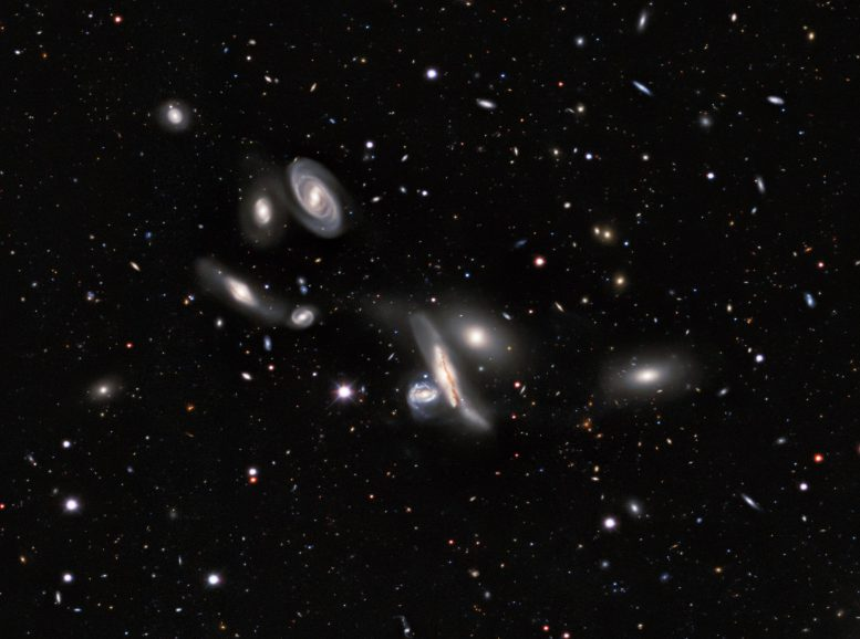 Copeland Septet Group of Galaxies