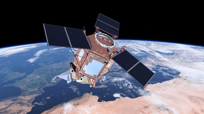 Copernicus Sentinel-5P Air Quality Monitoring